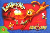 Labirynt ; Myszki : 2 gry planszowe