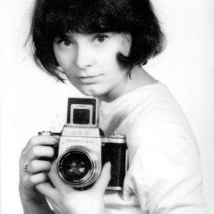 Zofia Nasierowska - autoportret